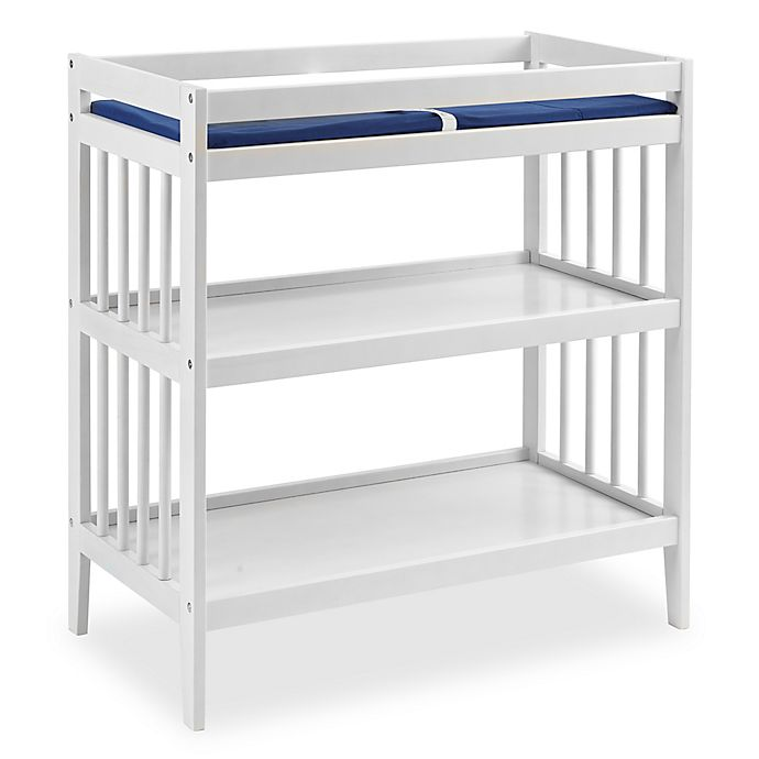 Alternate image 1 for Westwood Design Echo Changing Table with Pad in White