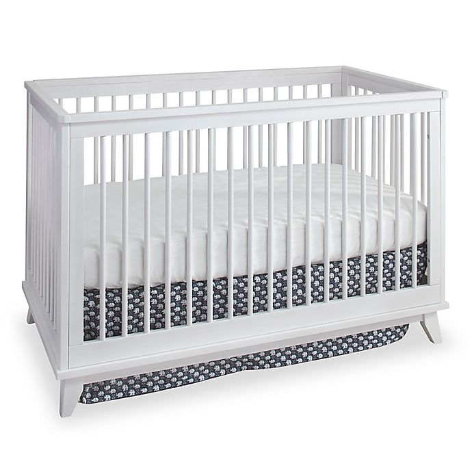 Alternate image 1 for Westwood Design Echo 3-in-1 Convertible Crib in White