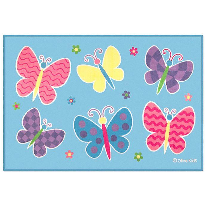 Alternate image 1 for Olive Kids™ Butterfly Garden Area Rug