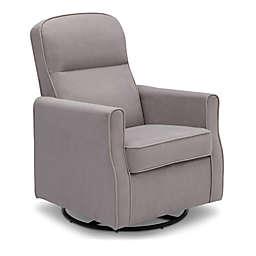 Delta Children Clair Slim Glider Nursery Chair in Dove Grey