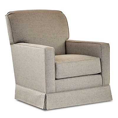 Klaussner®  Sussex Swivel Glider in Lucas Ash
