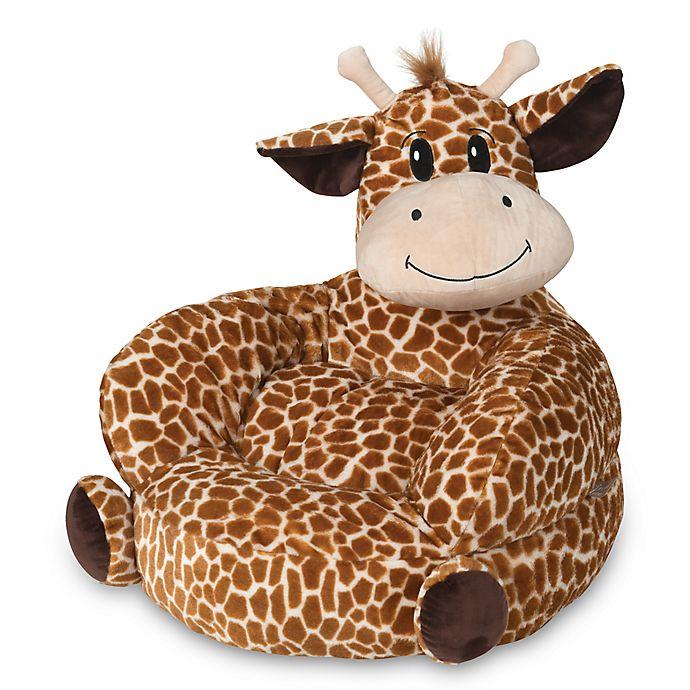 Alternate image 1 for Trend Lab Children's Plush Giraffe Character Chair