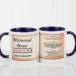 The Day You Were Born Coffee Mug