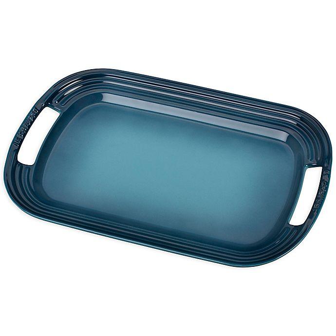 Alternate image 1 for Le Creuset® 16.25-Inch Rectangular Serving Platter