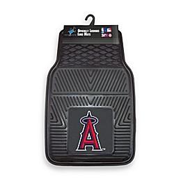 MLB Los Angeles Angels of Anaheim Vinyl Car Mats (Set of 2)