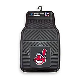 MLB Cleveland Indians Vinyl Car Mats (Set of 2)
