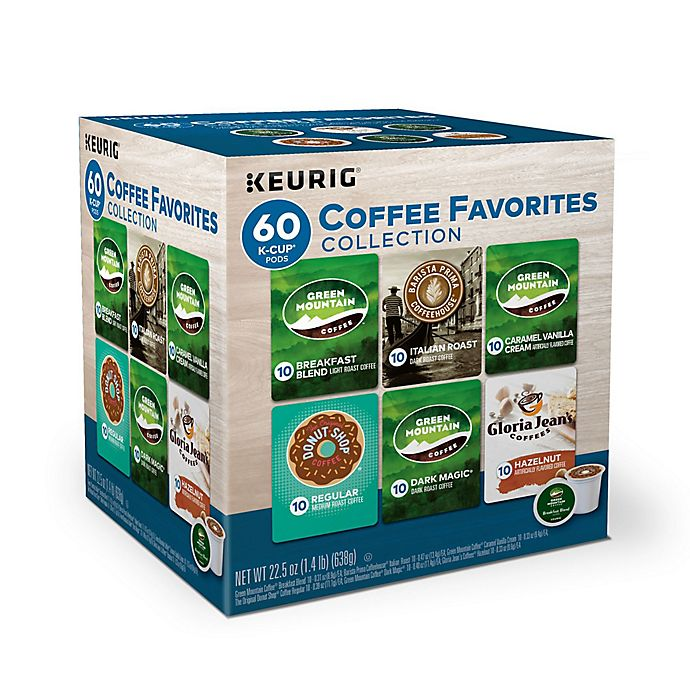 Alternate image 1 for Keurig® Variety Pack Keurig® K-Cup® Pods 60-Count