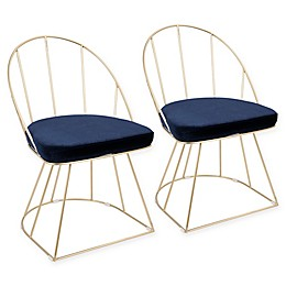 LumiSource Canary Dining Chairs (Set of 2)