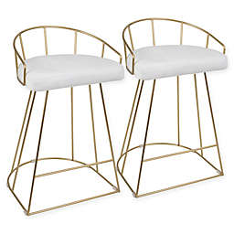 Lumisource Canary Counter Stools (Set of 2)