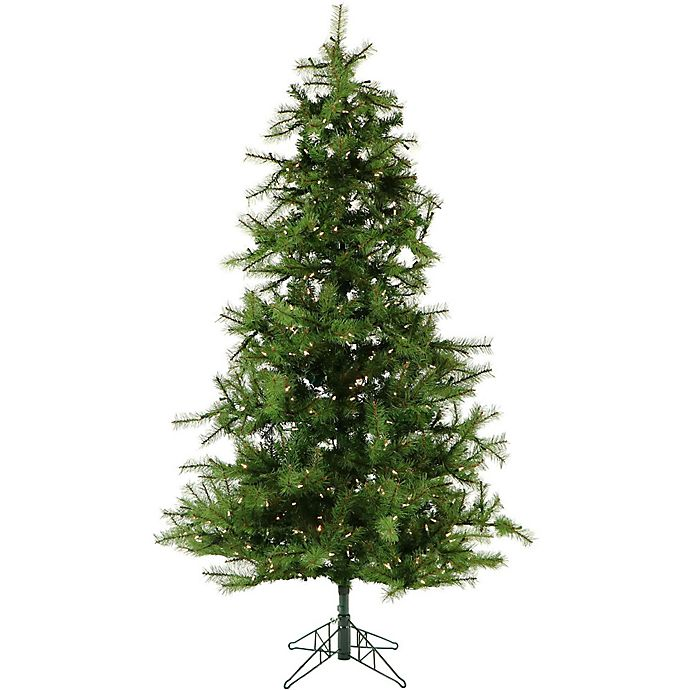 Alternate image 1 for Fraser Hill Farm 7.5-Foot Pre-Lit Smart Lighting Southern Peace Pine Artificial Christmas Tree