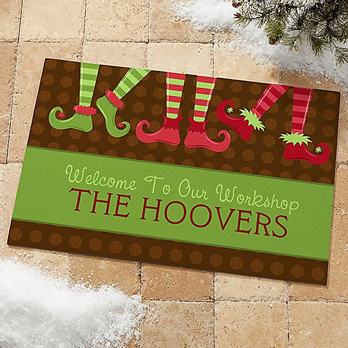 Alternate image 1 for Welcome To Our Workshop Door Mat
