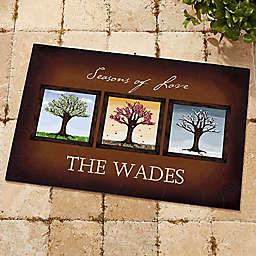 The Seasons 18-Inch x 27-Inch Door Mat