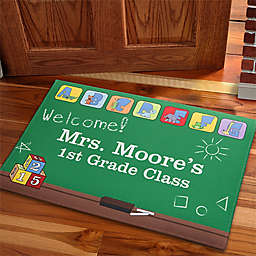 Teacher's Little Learners 18-Inch x 27-Inch Door Mat
