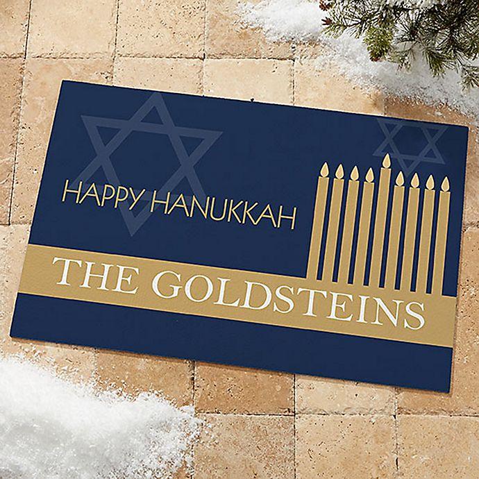 Alternate image 1 for Hanukkah Door Mat