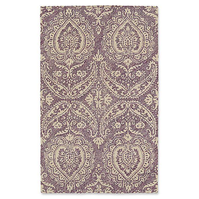 Alternate image 1 for Kaleen Weathered Halifa Indoor/Outdoor 5-Foot x 7-Foot 6-Inch Area Rug in Purple