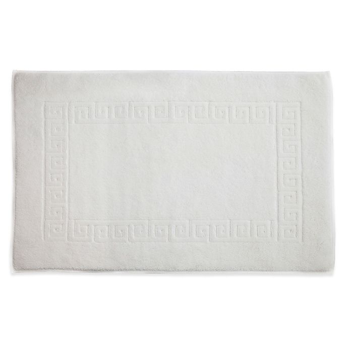 Alternate image 1 for Linum Home Textiles Greek Key Bath Mat Collection