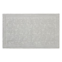 Jean Pierre Taylor Turkish Cotton Crochet Bath Rug