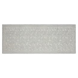 Jean Pierre Taylor 22-Inch x 60-Inch Turkish Cotton Crochet Bath Rug