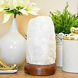 Clear Quartz Table Lamp