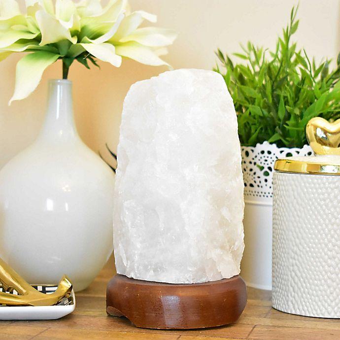 Alternate image 1 for Clear Quartz Table Lamp