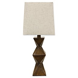 Décor Therapy Knox Table Lamp in Brown