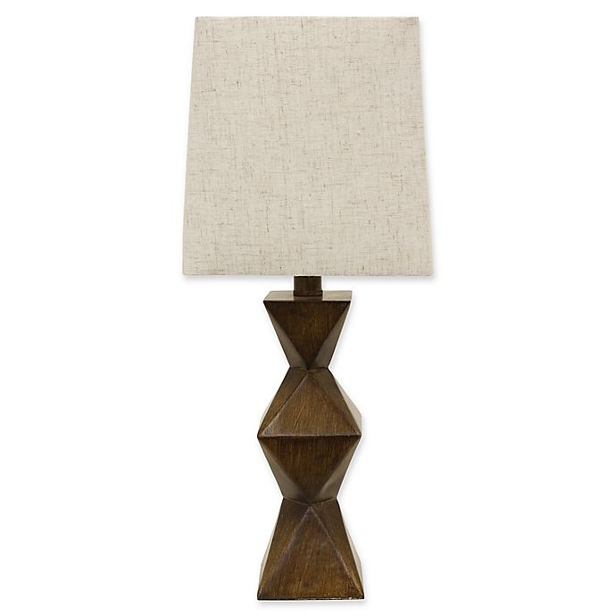 Alternate image 1 for Décor Therapy Knox Table Lamp in Brown