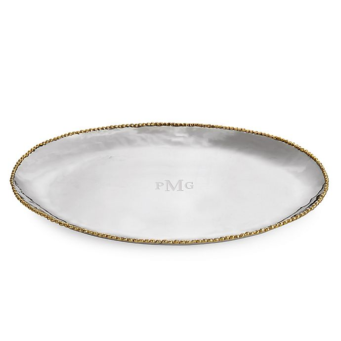 Alternate image 1 for Michael Aram Molten Gold Oval Platter