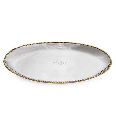 Michael Aram Molten Gold Oval Platter