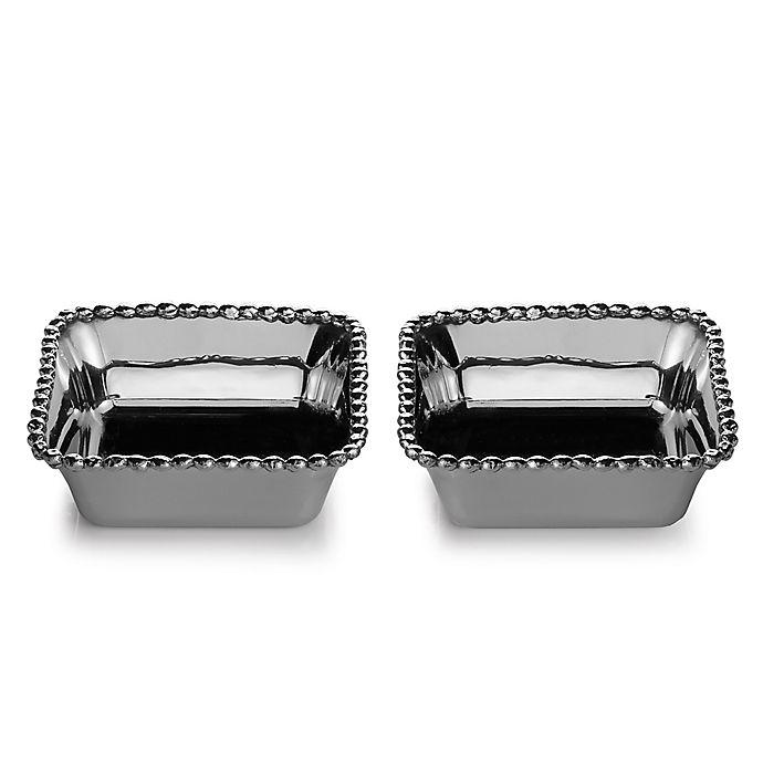 Alternate image 1 for Michael Aram Molten Mini Snack Dishes (Set of 2)
