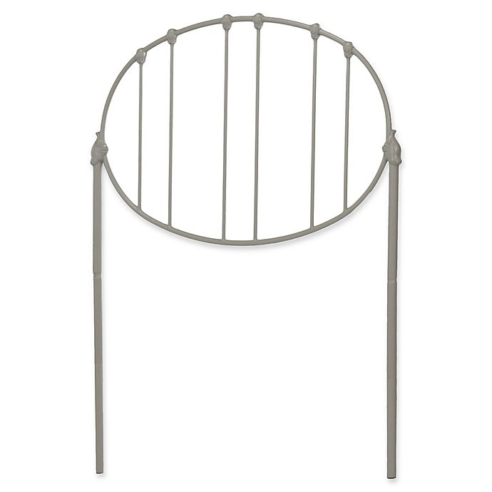 Alternate image 1 for Fashion Bed Group Emory Full Metal Headboard in Light Grey
