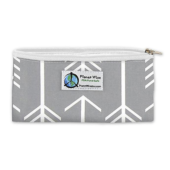 Alternate image 1 for Planet Wise™ Reusable Zippered Snack Bag