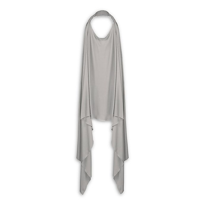 Alternate image 1 for Kushies® Peekaboob Nursing Scarf in Grey