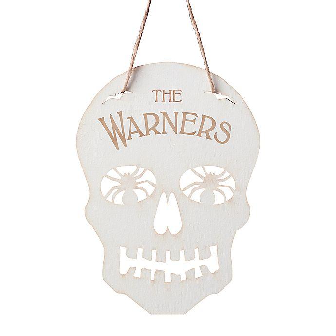 Alternate image 1 for Skeleton Hanging Wall Plaque