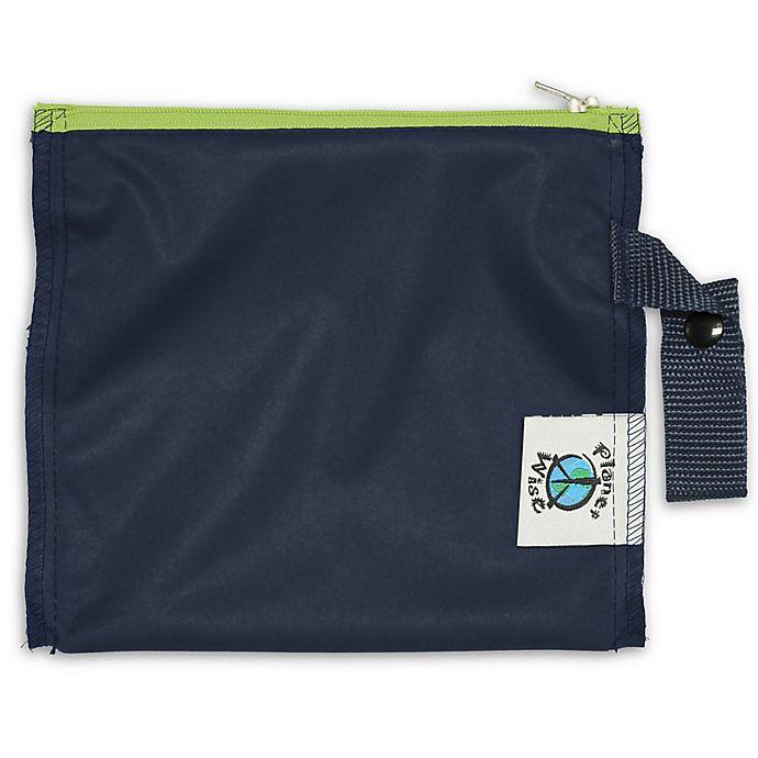 Alternate image 1 for Planet Wise™ Mini Lite Snack Bag in Navy