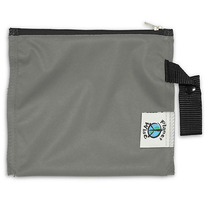 Alternate image 1 for Planet Wise™ Mini Lite Snack Bag in Slate