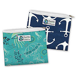 Planet Wise™ Jelly Jubilee Reusable Zippered Sandwich Bags (Set of 2)