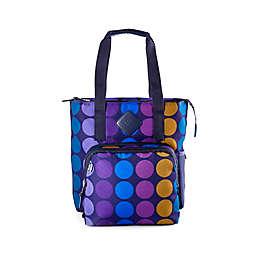 Built NY Lunchpack 15.75-Inch Verdi Tote Bag in Plum Dot
