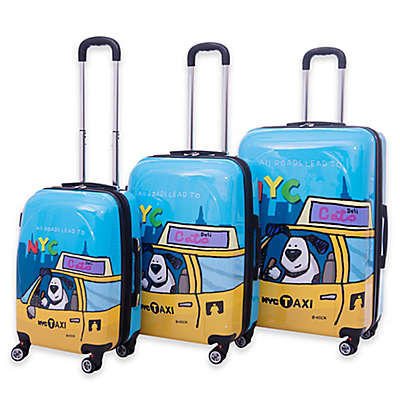 Ed Heck Riley Hardside Spinner Luggage in Blue