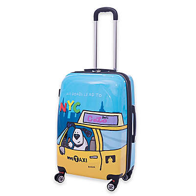 Ed Heck Riley 21-Inch Hardside Spinner Carry On in Blue