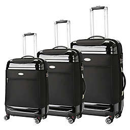 Brio Hybrid 3-Piece Luggage Set