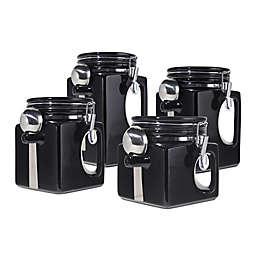 Oggi™ EZ Grip  Handle 4-Piece Kitchen Canister Set