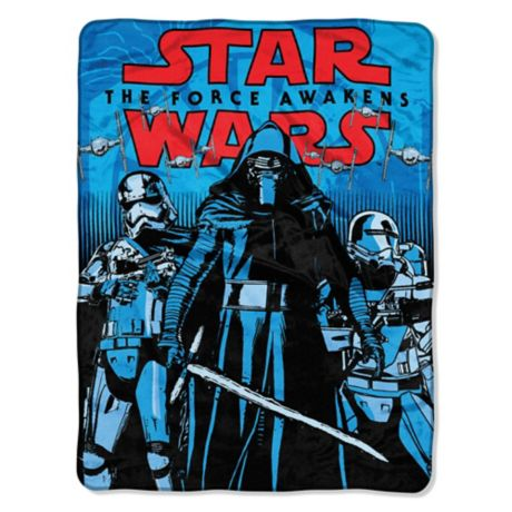 Star Wars The Force Awakens First Arrival Quot Throw Blanket