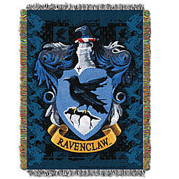 Harry Potter™ Ravenclaw Woven Tapestry Throw Blanket