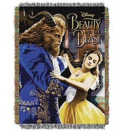Disney® Beauty & The Beast Ballroom Waltz Tapestry Throw