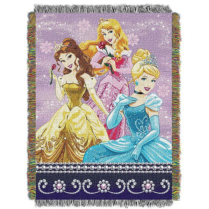 Disney 174 Princesses Quot Sparkle Dream Quot Woven Tapestry Throw