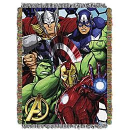 Marvel® Avengers Woven Tapestry Throw Blanket