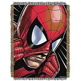 Marvel® Peter Parker Woven Tapestry Throw Blanket