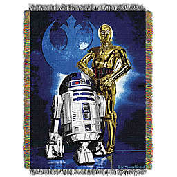 Star Wars™ Drioid Blues Woven Tapestry Throw Blanket