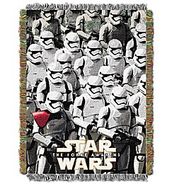 Star Wars™ Imperial Troops Woven Tapestry Throw Blanket