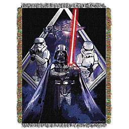 Star Wars™ Midnight Vader Woven Tapestry Throw Blanket